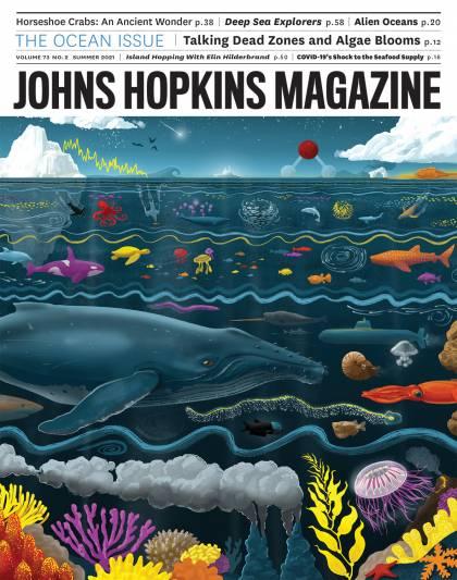 Johns Hopkins Magazine Summer 2021 cover