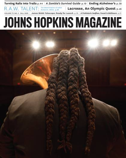 Johns Hopkins Magazine Fall 2021 cover